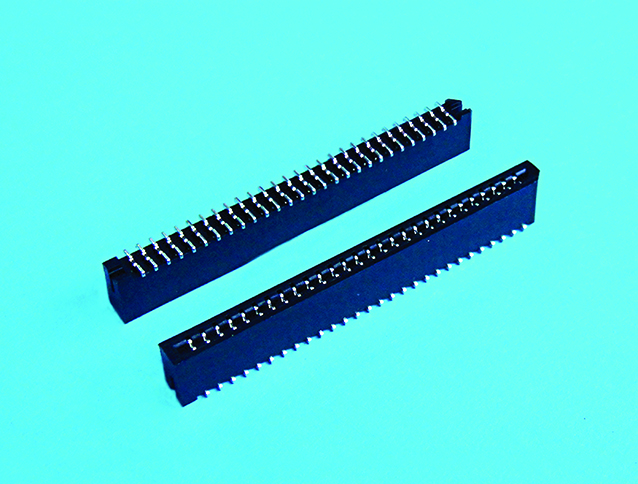 FPC 1.25mm pitch 雙面接觸 SMT180度(平腳位)