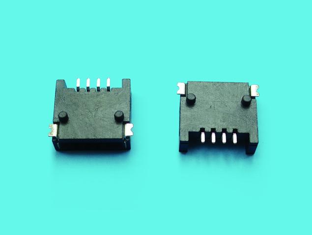 FPC 1.25mm pitch 單面接觸 SMT90度