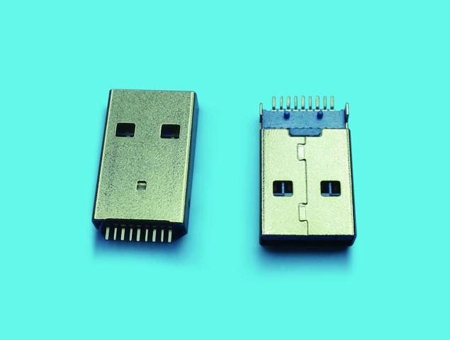 USB 3.0 A TYPE 公座 SMT90度