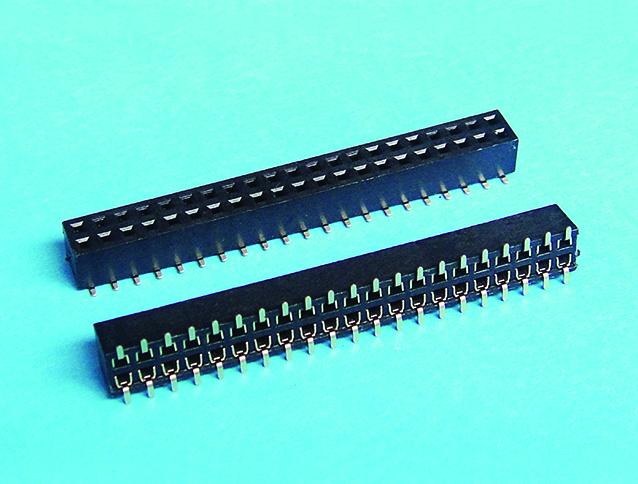 排母 2.0mm pitch 雙排 SMT180度